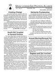 Maine Lesbian/Gay Political Alliance [newsletter] Vol.1, No.3 (December 1991) by Maine Lesbian/Gay Political Alliance