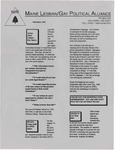 Maine Lesbian/Gay Political Alliance [newsletter] (September 1995) by Maine Lesbian/Gay Political Alliance
