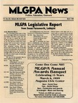 MLGPA News (March 1999) by Betsy Smith