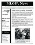 MLGPA News (Winter 2002) by Maggie Allen