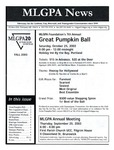 MLGPA News (Fall 2003) by Maggie Allen