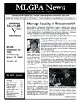 MLGPA News (Winter 2003) by Maggie Allen