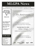 MLGPA News (Spring 2004) by Maggie Allen