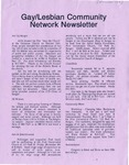 Gay/Lesbian Community Network Newletter ([November] 1991)