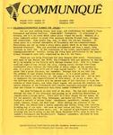 Northern Lambda Nord Communique, Vol.8, No.10 (December 1987)