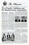 The Observer Vol. 6, Issue No. 1, 10-1963