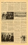 The Observer Vol. 9, Issue No. 7, 01/17/1967 by Gorham State College