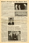 The Observer Vol. 10, Issue No. 7, 12-13-1967