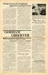The Observer Vol. 12, Issue No. 11, 02-27-1970 by Gorham State College