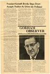 The Observer Vol. 12, Issue No. 15, 04/10/1970 by Gorham State College