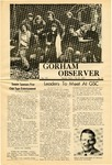 The Observer Vol. 12, Issue No. 20, 05-15-1970