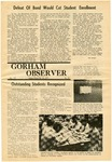 The Observer Vol. 12, Issue No. 21, 05-22-1970