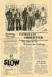 The Observer Vol. 13, Issue No. 1, 09-12-1970