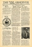 The Observer, 02/01/1971 by Gorham State Teachers College