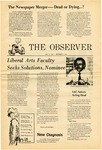 The Observer Vol. 14, Issue No. 2, 09/17/1971 by University of Maine Portland-Gorham