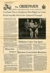 The Observer Vol. 14, Issue No. 7, 10/26/1971 by University of Maine Portland-Gorham