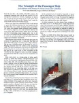 The Triumph of the Passenger Ship - An Exhibition of the Norman H. Morse Ocean Liner Collection