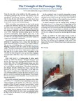 The Triumph of the Passenger Ship - An Exhibition of the Norman H. Morse Ocean Liner Collection by Osher Map Library