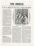 The Oracle 01/27/1939 by Gorham Normal School