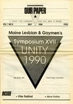 Our Paper 05/1990