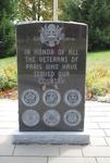 Paris, Maine: Veteran's Memorial