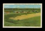 Muskogee Division of Spartan School of Aeronautics Postcard by Raymond A. Dutil