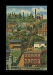 Mt. Adams Incline, Cincinnati, Ohio Postcard by Raymond A. Dutil