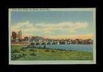 Cherry Street Bridge and Skyline, Toledo, Ohio Postcard