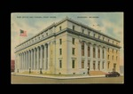 Post Office and Federal Court House, Muskogee, Oklahoma Postcard