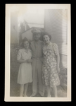 Raymond Dutil with Sisters Photograph