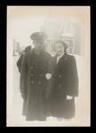Raymond Dutil with Sister Leona Photograph