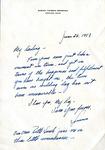 06/26/1953 Anniversary Note by Sumner T. Bernstein