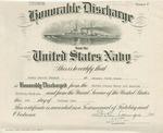 Honorable Discharge Certificate Romeo Gerard Turgeon