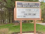 Gorham: White Rock Free Baptist Church by Libby Bischof