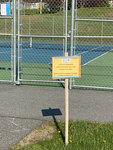 South Portland: High School Tennis Courts by Gavin Glider