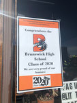Brunswick: Proud of our seniors [Little Dog Cafe] by Carrie Bell-Hoerth