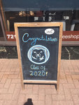 Brunswick: Congratulations Class of 2020 [Little Dog Café] by Anna Faherty