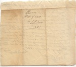 Manuscript slave deed, dated February 2, 1830, Rockbridge County, Virginia, from Larkin Powers to Thomas Johnston.