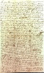 Manuscript slave deed, dated December 1, 1800, from William & Nicholas Mills to Charles Thompson Jr. Contemporary copy, recorded March 1801. by William Mills and Nicholas Mills