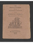 The wonder of wonders, or, The remarkable discovery of an American hermit; : who lived upwards of 200 years by James Buckland and John Fielding