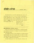 Stein-Vine (December 1984) by Wilde Stein Club