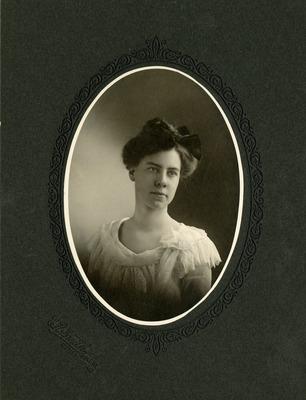 Harriet Sweetser Portrait, Date Unknown