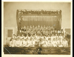 Photograph of Minstrel Show, 1933 by USM Special Collections