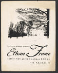 Ethan Frome Poster by University of Southern Maine Department of Theatre