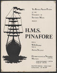 The H.M.S. Pinafore Poster by University of Southern Maine Department of Theatre
