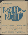 The Twelfth Night Poster by University of Southern Maine Department of Theatre