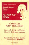 Agnes of God by University of Southern Maine Department of Theatre