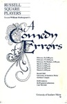A Comedy of Errors by University of Southern Maine Department of Theatre
