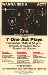 Seven One Act Plays by University of Southern Maine Department of Theatre
