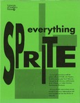 Everything Sprite by University of Southern Maine Department of Theatre